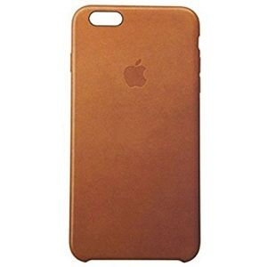 Tan leather Apple iPhone case 6s